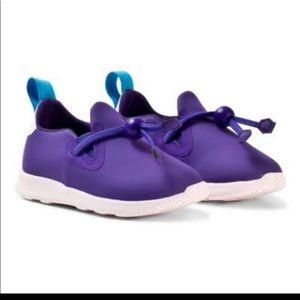Native shoes purple Apollo Moc size 13T